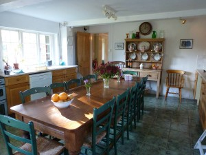 The Oast House on the Pekes Manor Estate. The Kitchen.