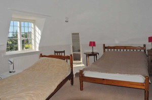 The Oast House on the Pekes Manor Estate. Bedroom.