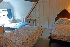 The Manor House at Pekes. Nanny's Bedroom.