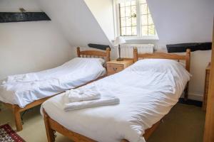 "The Manor House at Pekes. The ""Night Nursery"" Bedroom."