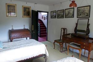 The Manor House at Pekes. In Jasmine's Bedroom.