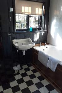 The Manor House at Pekes. Another bathroom.