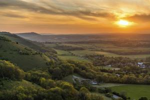 Around Pekes: The View across Devil's Dyke