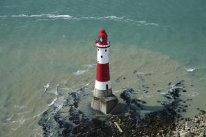 Around Pekes: The Lighthouse at Beachey Head