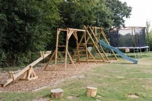 The Pekes Manor Estate. The Children's Play Area.
