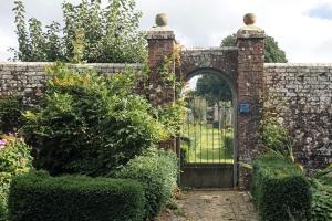 The Pekes Manor Estate. An entrance to the Walled garden.