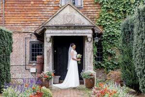 Weddings & Celebrations at Pekes Manor. The front door.