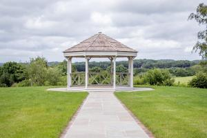 Weddings & Celebrations at Pekes Manor. The Gazebo on the Ceremony Lawn.