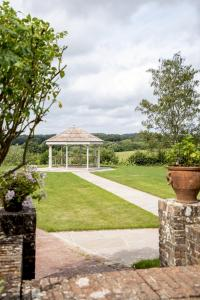 Weddings & Celebrations at Pekes Manor. The Gazebo and approach on the Ceremony Lawn.