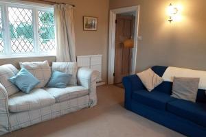Tudor View on the Pekes Manor Estate. The Sitting Room.